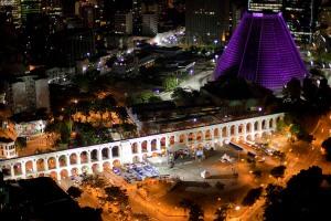 Arcos da Lapa e Catedral do Rio de Janeiro