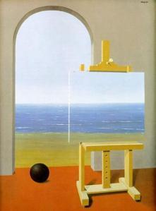 La condicion humana (René Magritte)