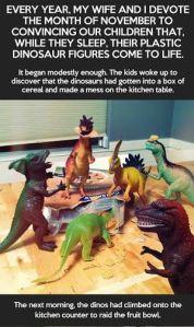 Dinos de brinquedo