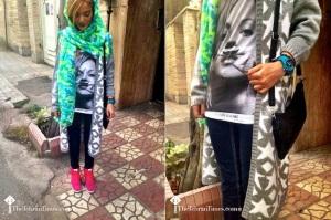 Moda de rua das mulheres iranianas