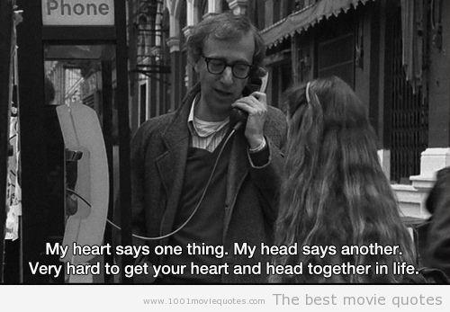 Coração x cabeça
