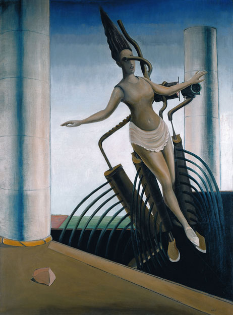 Die schwankende Frau, Max Ernst (1923)