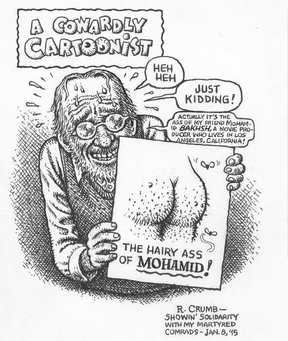 The Hairy Ass of Muhammad - Robert Crumb