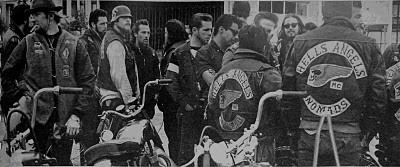 Hell's Angels Group with Jackets