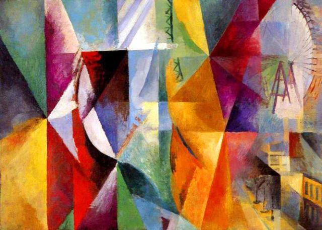 Janelas, de Robert Delaunay